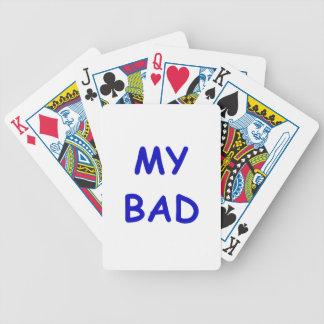 My Bad Poker Deck