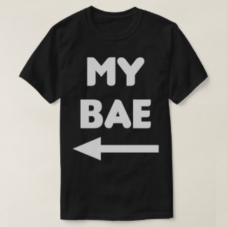 My Bae Matching Couples Shirt