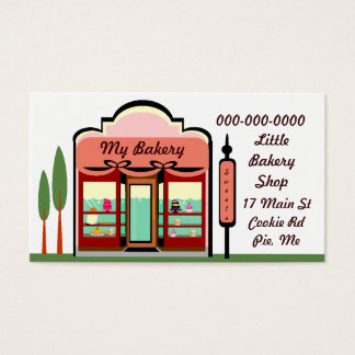 MY BAKERY SHOP BUSINESS CARD