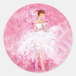 My Ballet Dream Wedding Stickers