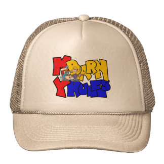 My Barn My Rules Cow Trucker Hat