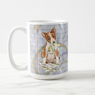 My Basenji Ate My Lesson Plan Coffee Mug
