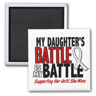 My Battle Too 1 Daughter BONE / LUNG CANCER Magnet