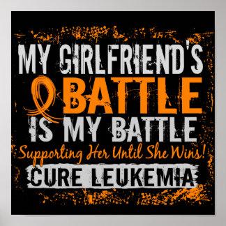 My Battle Too 2 Leukemia Girlfriend Print