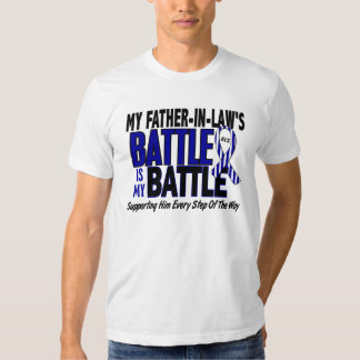 My Battle Too ALS Father-In-Law T-shirt