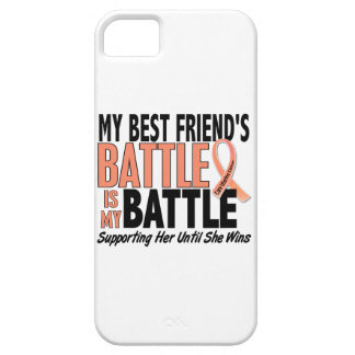 My Battle Too Best Friend Uterine Cancer iPhone 5 Case
