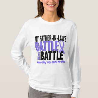 My Battle Too Father-In-Law Esophageal Cancer T-Shirt