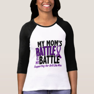 My Battle Too Mom Pancreatic Cancer T-Shirt