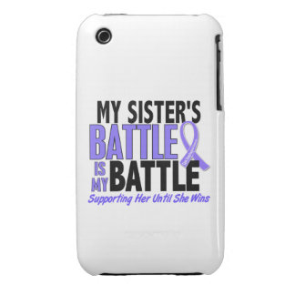 My Battle Too Sister Esophageal Cancer iPhone 3 Cases