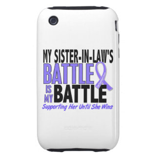 My Battle Too Sister-In-Law Esophageal Cancer iPhone 3 Tough Cover