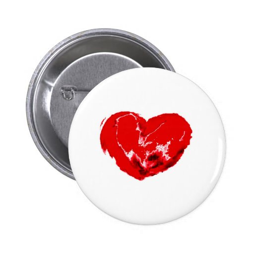 My Beating Heart Pinback Buttons