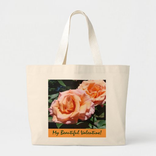 My Beautiful Valentine gifts Tote Bags Rose