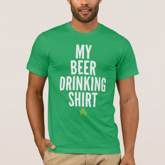 My Beer Drinking Shirt