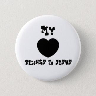 My, belongs to Jesus 2 Inch Round Button