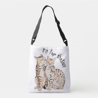 My Bengal Fur Babies Crossbody Bag