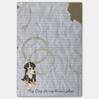My Berner Ate my Lesson Plan Post-it® Notes