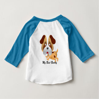 My Best Buddy American Apparel Raglan T-Shirt