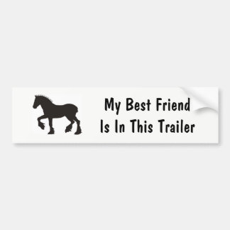 My Best Friend Bumper Sticker