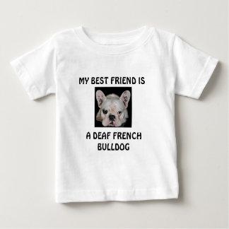 MY BEST FRIEND IS, A DEAF FRENCH BULLDOG T-SHIRT