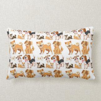 My Best Friend Pattern Lumbar Pillow