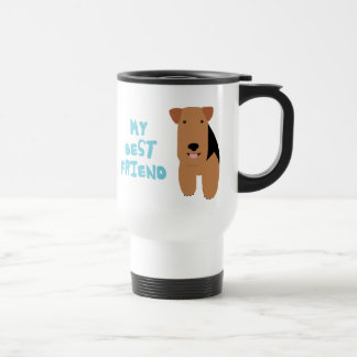 My Best Friend Welsh Terrier Travel Mug