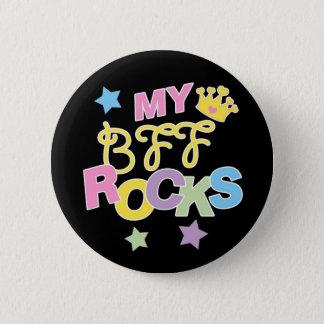 My BFF Rocks 2 Inch Round Button
