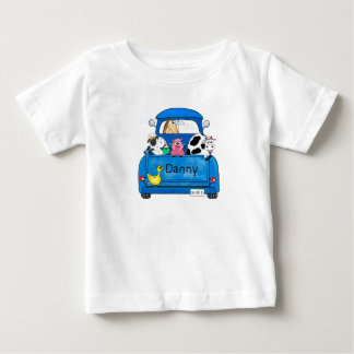 My Big Blue Truck Baby T-Shirt