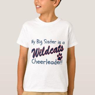 My Big Sister is a Wildcats Cheerleader T-Shirt