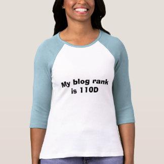 My blog rank is 110D T Shirt