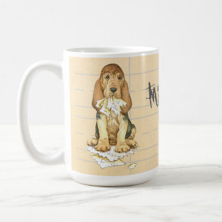 My Bloodhound Ate my Homework Coffee Mug