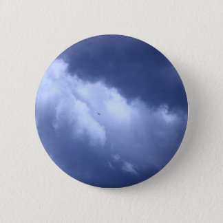 My Blue Heaven 2 Inch Round Button