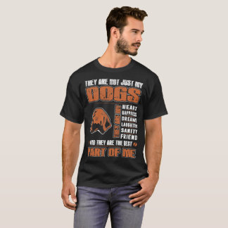 My Bluetick Coonhound Dog They Are Best Part Of Me T-Shirt