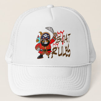 My Boat My Rules Captains hat
