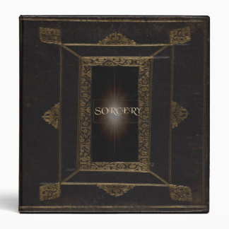 My Book of Sorcery 3 Ring Binder