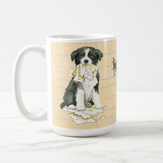 My Border Collie Ate my Homework Coffee Mug