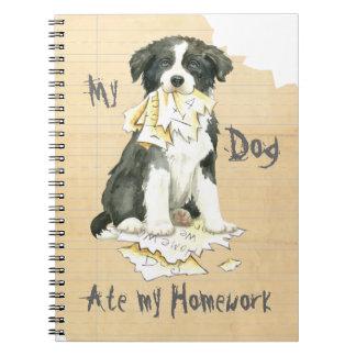 My Border Collie Ate my Homework Notebook
