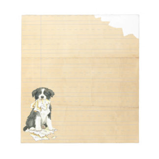 My Border Collie Ate my Homework Notepad