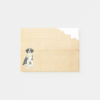 My Border Collie Ate my Homework Post-it Notes