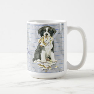 My Border Collie Ate my Lesson Plan Coffee Mug