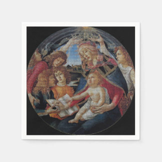 My Boticelli Serie : Madonna del Magnificat Paper Napkins