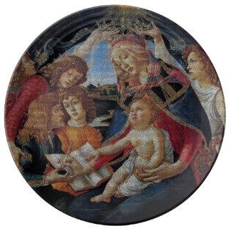 My Boticelli Serie : Madonna del Magnificat Plate