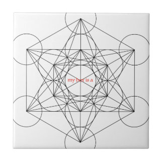 my box is a... Metatron's Cube Ceramic Tiles