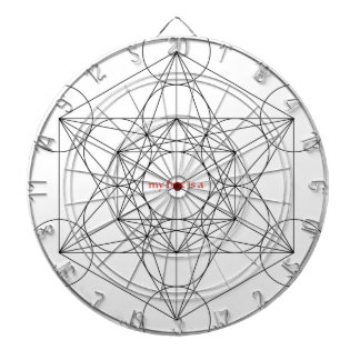 my box is a... Metatron's Cube Dartboard With Darts