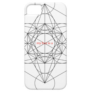 my box is a... Metatron's Cube iPhone 5 Case