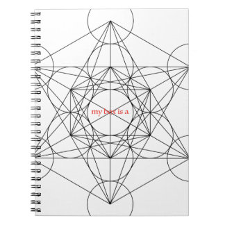 my box is a... Metatron's Cube Notebooks