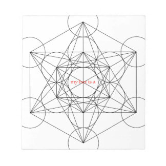 my box is a... Metatron's Cube Notepad