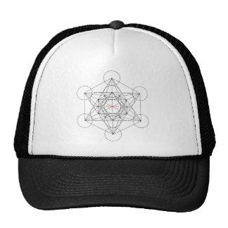 my box is a... Metatron's Cube Trucker Hat