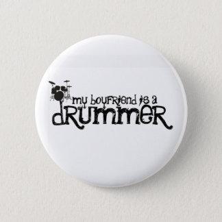 My Boyfriend is a Drummer 2 Inch Round Button
