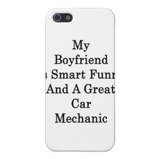 My Boyfriend Is Smart Funny And A Great Car Mechan iPhone 5 Covers
