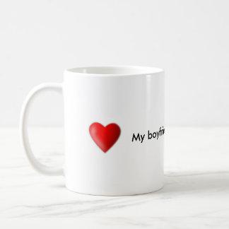 My boyfriend is the Best coffee mug